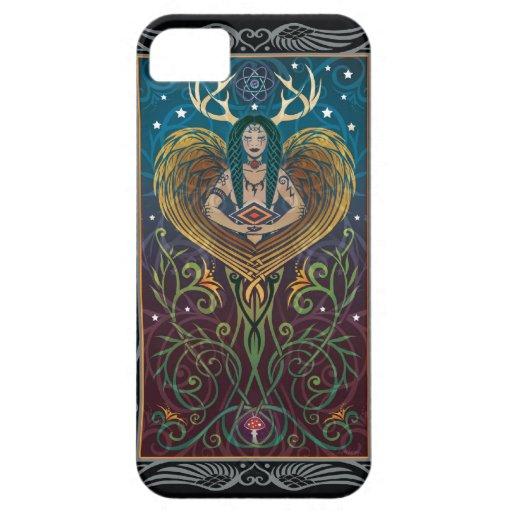 caso del iPhone 5 - Shaman de C. McAllister iPhone 5 Case-Mate Carcasa