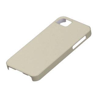 caso del iPhone 5 - sólido - arcilla iPhone 5 Funda