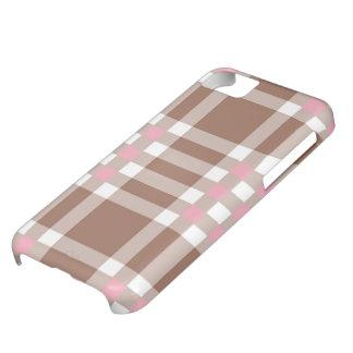 caso del iPhone 5 - tela escocesa sólida - Funda iPhone 5C