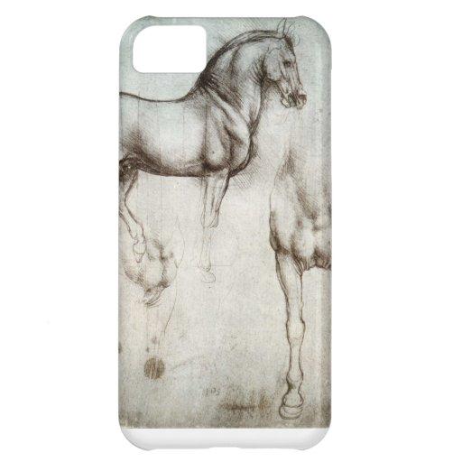 caso del iPhone 5C con el dibujo del caballo de la Funda Para iPhone 5C