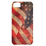 Caso del iPhone 5C de la bandera americana