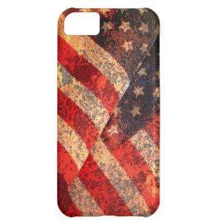 Caso del iPhone 5C de la bandera americana Funda Para iPhone 5C