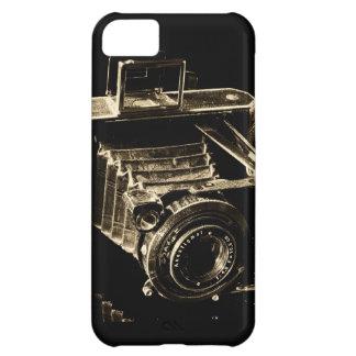 Caso del iPhone 5C de la cámara del vintage