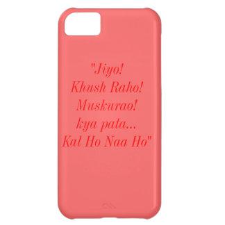 Caso del iPhone 5C de la cita de Kal Ho Naa Ho Funda Para iPhone 5C
