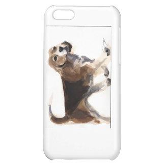 Caso del iPhone 5c del beagle