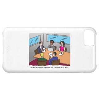 Caso del iPhone 5C del dibujo animado de la contab Funda Para iPhone 5C