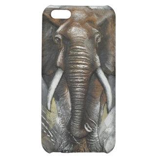 Caso del iPhone 5c del elefante
