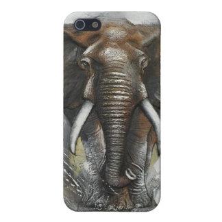 Caso del iPhone 5c del elefante iPhone 5 Carcasa
