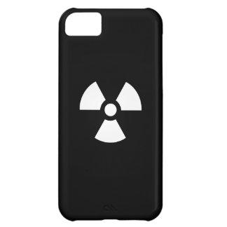 Caso del iPhone 5C del pictograma de la radiación