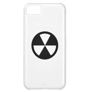 Caso del iPhone 5C del pictograma del refugio de p