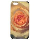 Caso del iPhone 5C del rosa amarillo