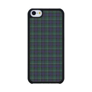 Caso del iPhone 5C del tartán del distrito de Funda De iPhone 5C Slim Arce