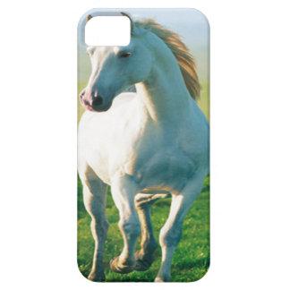 Caso del iPhone 5G del caballo blanco iPhone 5 Coberturas