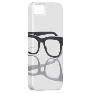 Caso del iPhone 5S 4 del negro del empollón de los iPhone 5 Case-Mate Carcasa