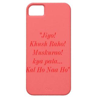 Caso del iPhone 5S Barely There de la cita de Kal iPhone 5 Carcasas