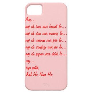 Caso del iPhone 5S de la cita de Kal Ho Naa Ho iPhone 5 Case-Mate Protectores