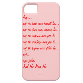 Caso del iPhone 5S de la cita de Kal Ho Naa Ho iPhone 5 Fundas