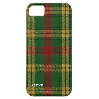 Caso del iPhone 5S de la tela escocesa de tartán d iPhone 5 Cobertura