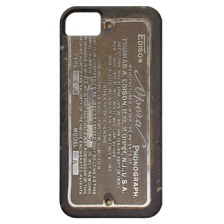 caso del iphone 5s del fonógrafo funda para iPhone SE/5/5s