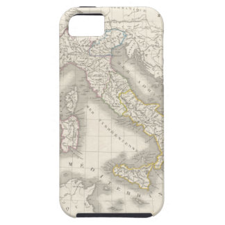 Caso del iPhone 5S del mapa de Italia del Viejo iPhone 5 Fundas