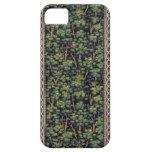 Caso del iPhone 5s del papel pintado del bosque de iPhone 5 Case-Mate Cárcasas