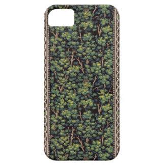 Caso del iPhone 5s del papel pintado del bosque iPhone 5 Case-Mate Cárcasas