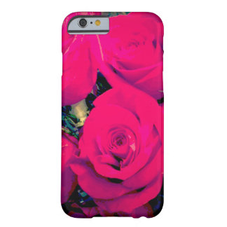 caso del iPhone 6/6s Barely There. Rosas rosados Funda Barely There iPhone 6