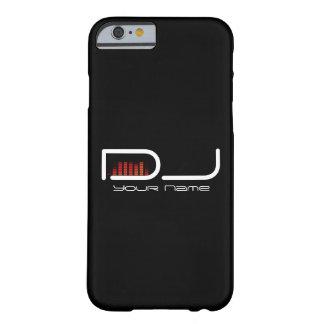 Caso del iPhone 6/6s de DJ con diseño del Funda De iPhone 6 Barely There