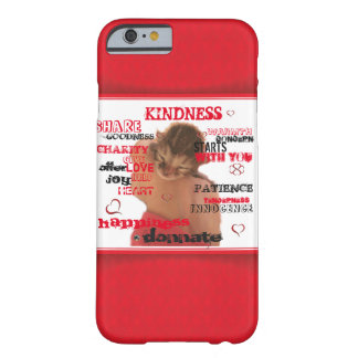 Caso del iPhone 6/6s de la amabilidad Funda Para iPhone 6 Barely There