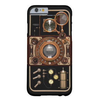 Caso del iPhone 6/6S de la cámara #2B de Steampunk Funda Para iPhone 6 Barely There