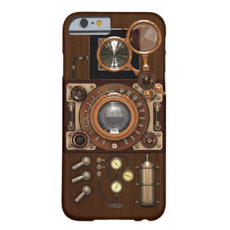 Caso del iPhone 6/6S de la cámara de Steampunk TLR Funda Para iPhone 6 Barely There
