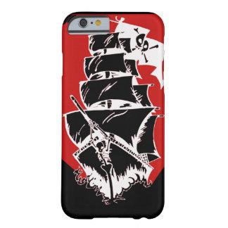 Caso del iPhone 6/6s de la nave y de la bandera de Funda Barely There iPhone 6