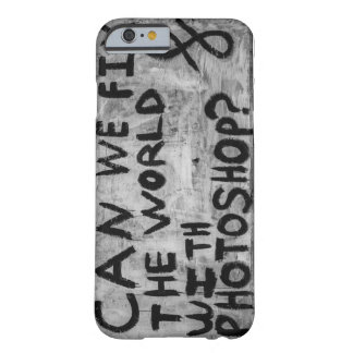 Caso del iphone 6/6s de la pintada funda para iPhone 6 barely there