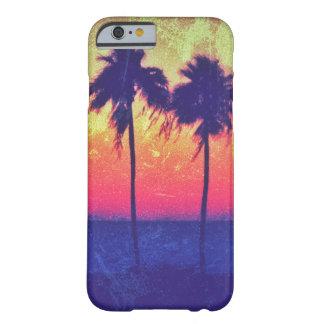Caso del iPhone 6/6s de las palmeras de la puesta Funda De iPhone 6 Barely There