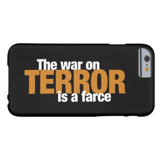 Caso del iPhone 6/6s de las redes del terror Funda Para iPhone 6 Barely There
