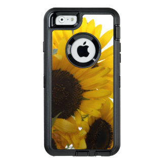 Caso del iPhone 6/6s de Otterbox de los girasoles Funda Otterbox Para iPhone 6/6s