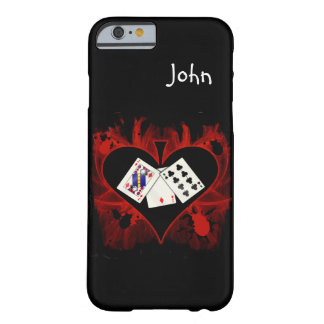 Caso del iPhone 6/6S del póker Funda Barely There iPhone 6