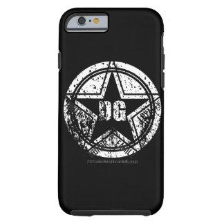 caso del iPhone 6/6s - logotipo de DG Funda Resistente iPhone 6