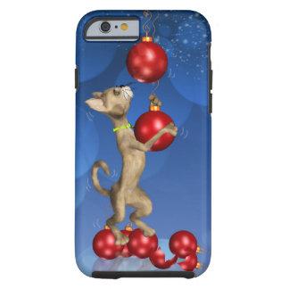 caso del iPhone 6 con el balanceo del gato del día