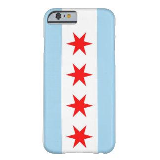 caso del iPhone 6 con la bandera de Chicago, Funda De iPhone 6 Barely There