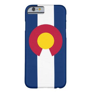 caso del iPhone 6 con la bandera de Colorado