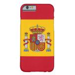 caso del iPhone 6 con la bandera de España Funda De iPhone 6 Barely There