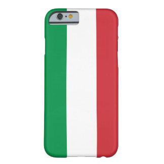 caso del iPhone 6 con la bandera de Italia Funda Para iPhone 6 Barely There