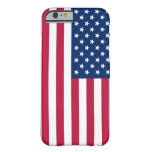 caso del iPhone 6 con la bandera de los E.E.U.U. Funda De iPhone 6 Slim