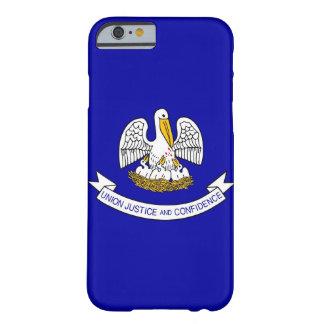 caso del iPhone 6 con la bandera de Luisiana Funda De iPhone 6 Barely There