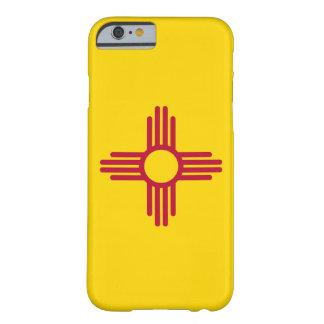 caso del iPhone 6 con la bandera de New México Funda De iPhone 6 Barely There