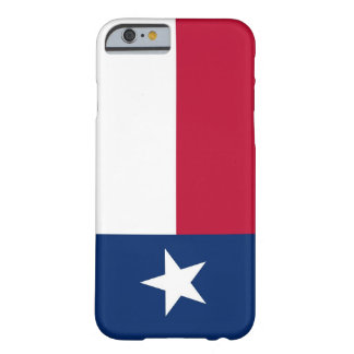 caso del iPhone 6 con la bandera de Tejas Funda Para iPhone 6 Barely There