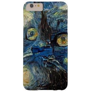 caso del iphone 6 con una imagen del gato funda barely there iPhone 6 plus