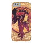 Caso del iPhone 6 de Alfonso Mucha Donna Orechini Funda De iPhone 6 Barely There