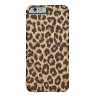 Caso del iPhone 6 de Apple del estampado leopardo Funda Barely There iPhone 6